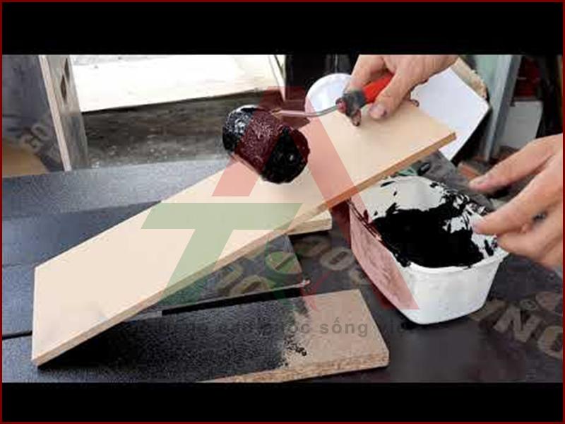 Quy trình sơn vỏ thùng loa karaoke