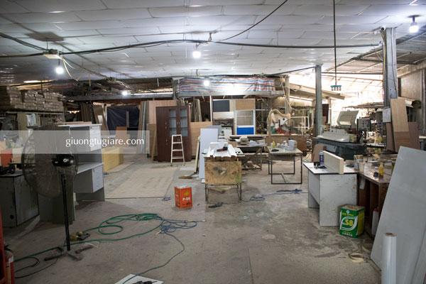 Xưởng nội thất tại Tp. HCM