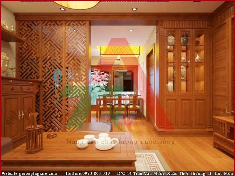 vách ngắn CNC giúp tăng độ thẩm mỹ không gian nhà